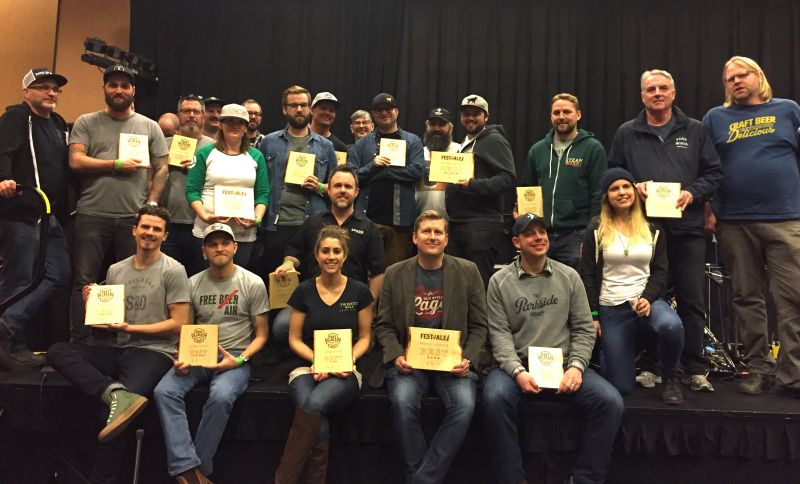 Okanagan Fest of Ale 2017 Winners and Judges