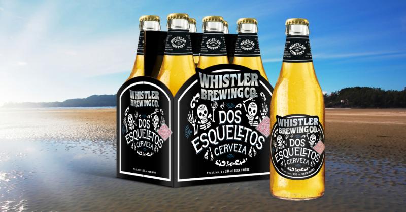 Whistler Brewing Dos Esqueletos Mexican Lager Mockup