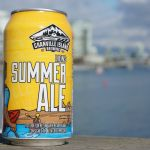 Granville Island Lions Summer Ale Can Ocean