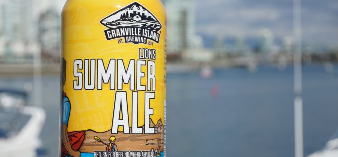Granville Island Brewing launches Lions Summer Ale
