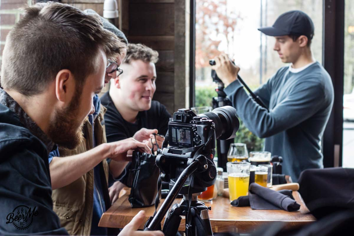 Flights Series Behind the Scenes Filming the Restaurant