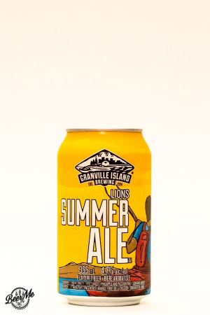 Granville Island Brewing Lions Summer Ale Can