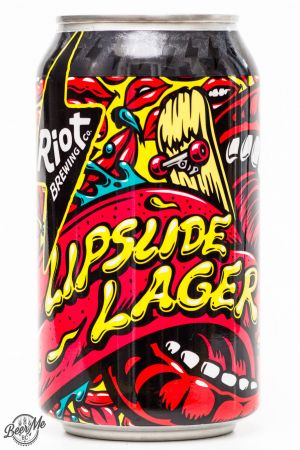 Riot Brewing Co. Lipslide Lager Review