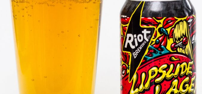 Riot Brewing Co. – Lipslide Lager