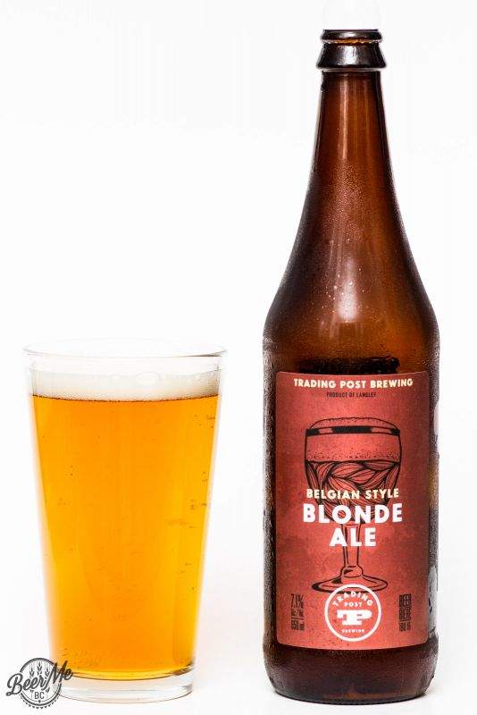 Trading Post Brewing Belgian Style Blonde Ale Review
