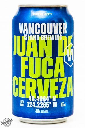 Vancouver Island Brewing Juan De Fuca Cerveza Review