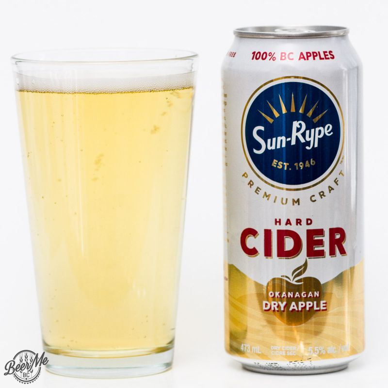 Sun Rype Dry Apple Hard Cider Review