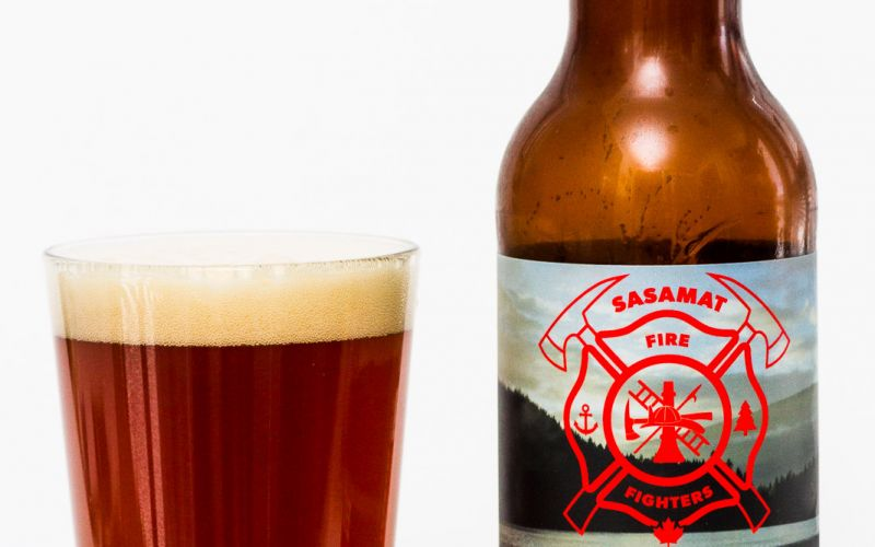 Brewers Row Sasamat Fire Fighers Belgian Pale Ale with Peaches