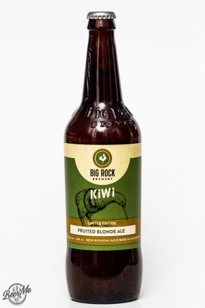 Big Rock Kiwi Fruited Blonde Ale Review