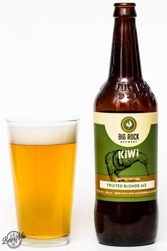 Big Rock Kiwi Fruited Blonde Ale Review