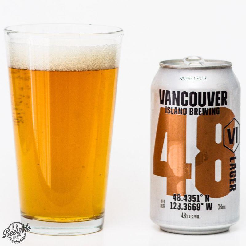 Vancouver Island Brewery 48 Lager Review