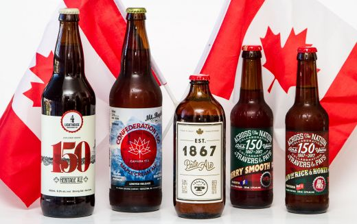 Celebrating #Canada150 with Amazing BC Brewed Craft Beer