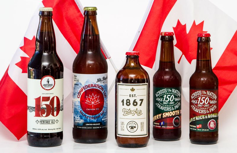 #Canada150 BC Craft Beer