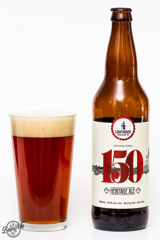 LIghthouse Brewing Canada150 Commemorative Ale Review
