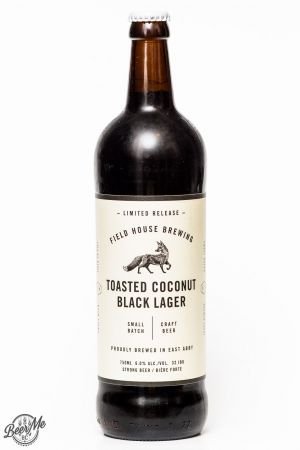 Fieldhouse Brewing Coconut Black Lager Review