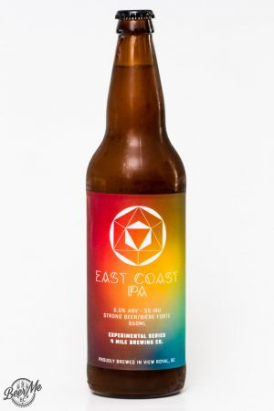 4 Mile Brewing East Coast IPA Review