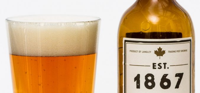 Trading Post Brewing Co. – EST. 1867 Pale Ale