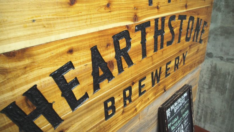 Flights Series Two Hearthstone Brewery Wooden Sign