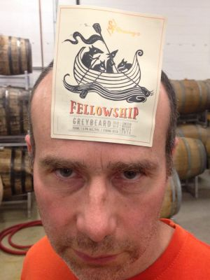 Iain HIll - Strange Fellows Brewing