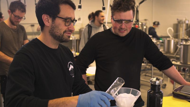 Flights Series Two KPU Brewing Program Lab Filtering