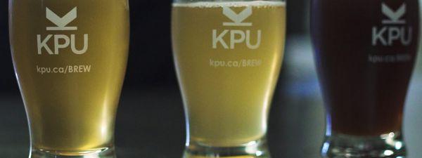 Flights Series Two KPU Brewing Program Flight of Beers
