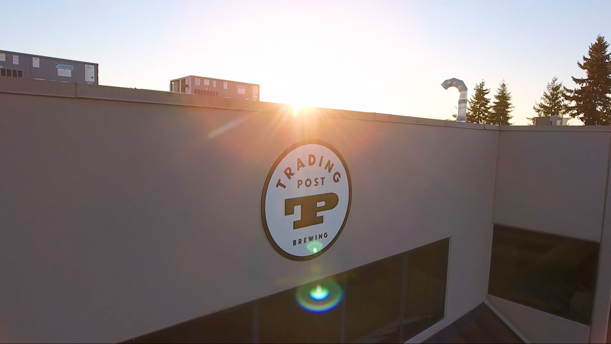 Flights Series Two Trading Post Brewery Drone Shot