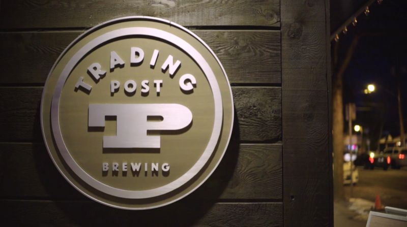 Flights Series Two Trading Post Brewery Pub Sign