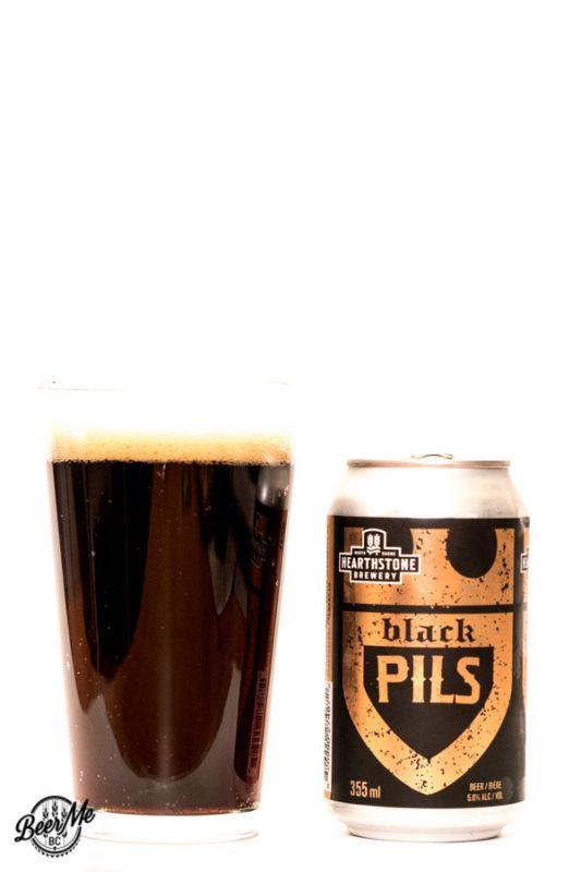 Hearthstone Brewery Black Pils
