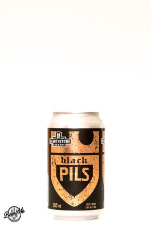 Hearthstone Brewery Black Pils Can