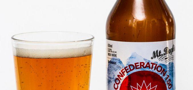 Mt. Begbie Brewing Co. – Confederation 150 Maple Cream Ale