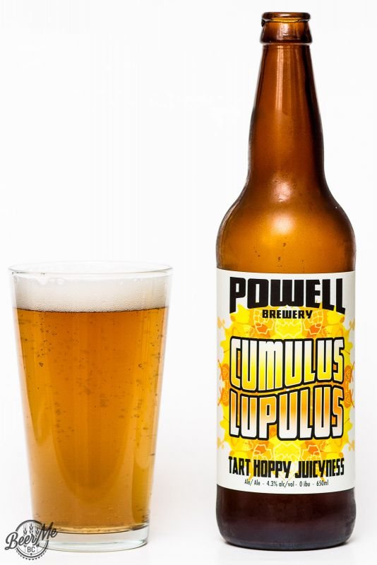 Powell Brewery Cumulus Lupulus Review