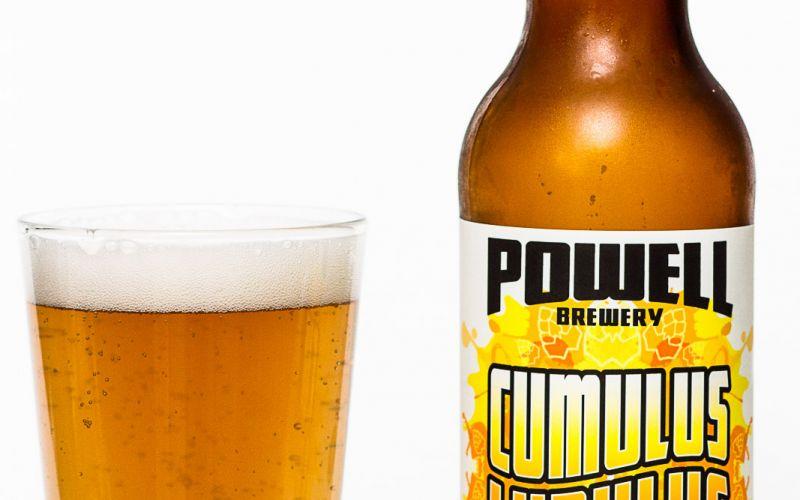 Powell Brewery – Cumulus Lupulus Tart Hoppy Juicyness
