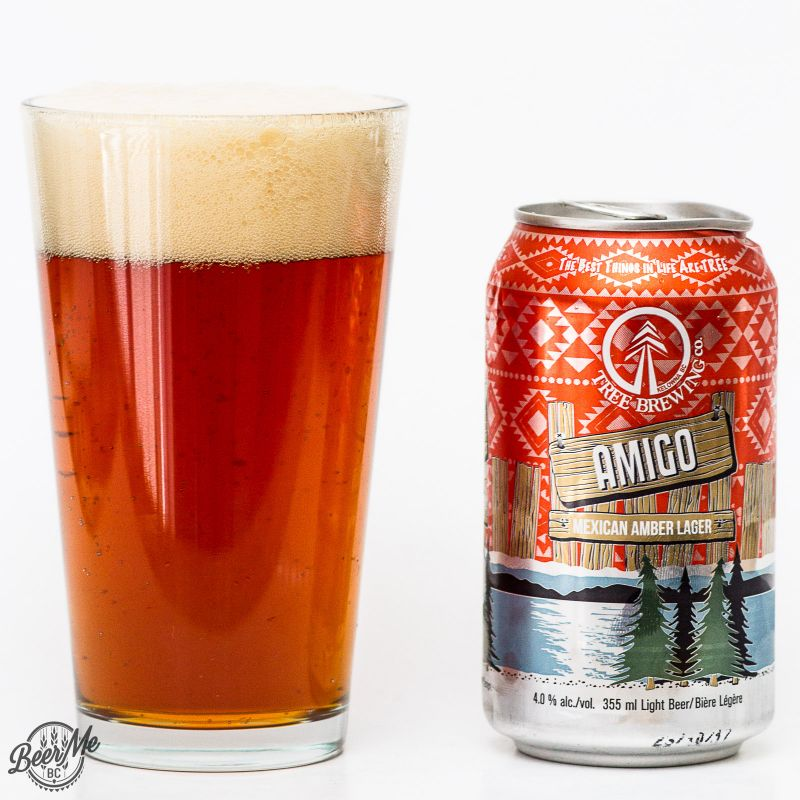 Tree Brewing Amigo Mexican Amber Lager Review