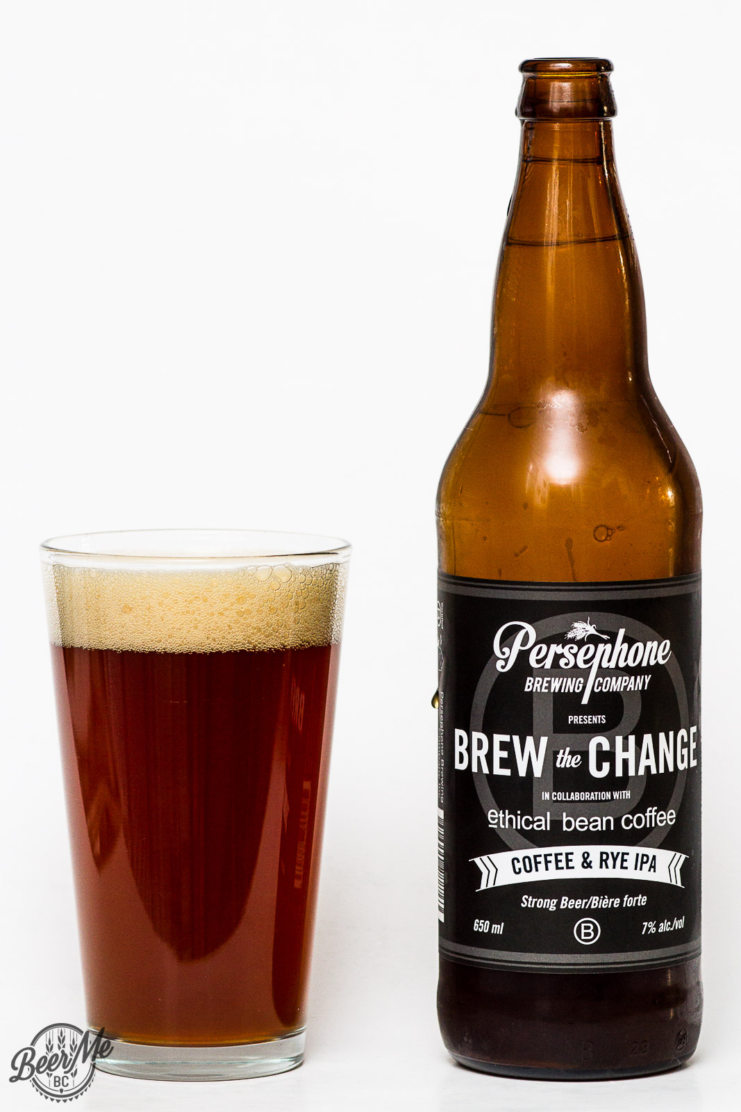 Persephone Brewing Brew The Change Coffee Rye IPA Review