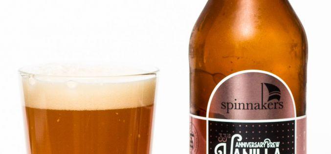 Spinnaker's Brewery – 33rd Anniversary Vannilla Truffle Wheat Ale