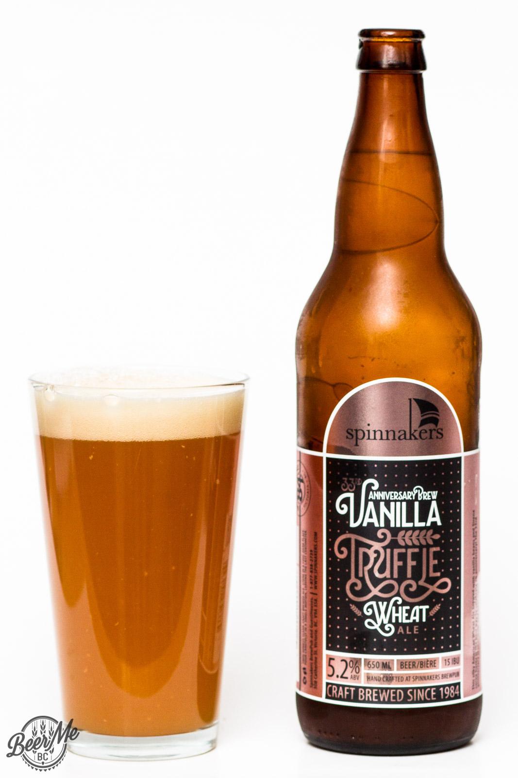 Spinnaker's Brewery – 33rd Anniversary Vannilla Truffle ...