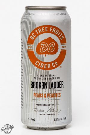 BC Tree Fruits Cider Broken Ladder Peaches & Apples Review