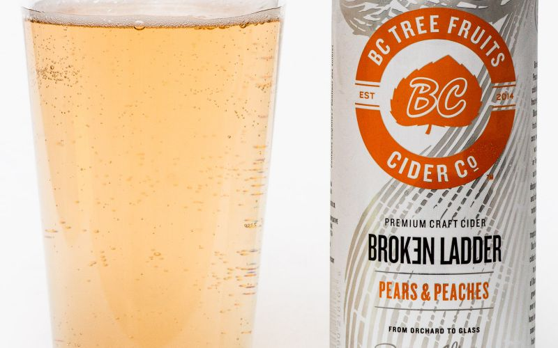 BC Tree Fruits Cider Co. – Broken Ladder Pears & Peaches