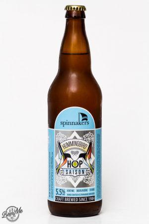 Spinnaker's Brewery Hummingbird Hop Saison Review