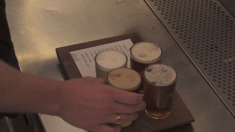 Flights Series Two 33 Acres Flight of Beer