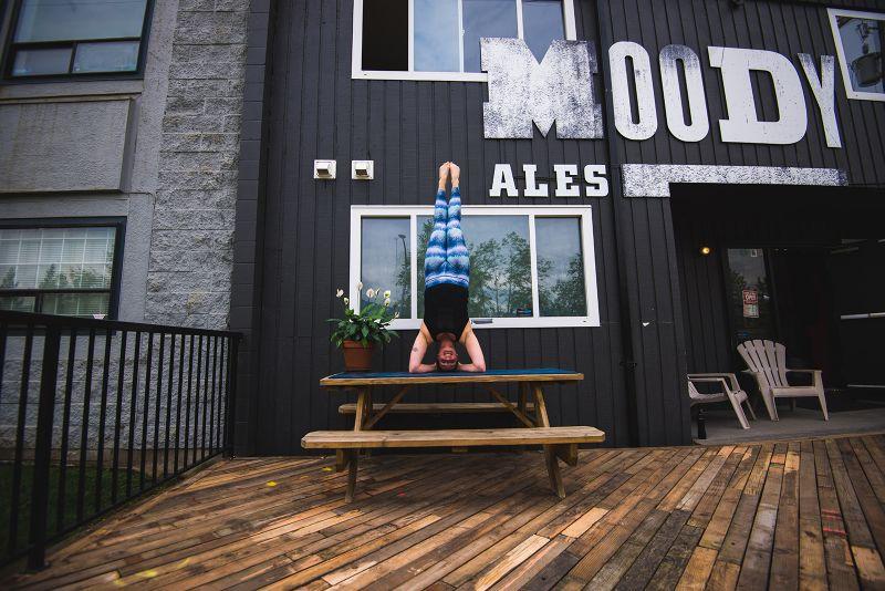 Moody Ales Yoga