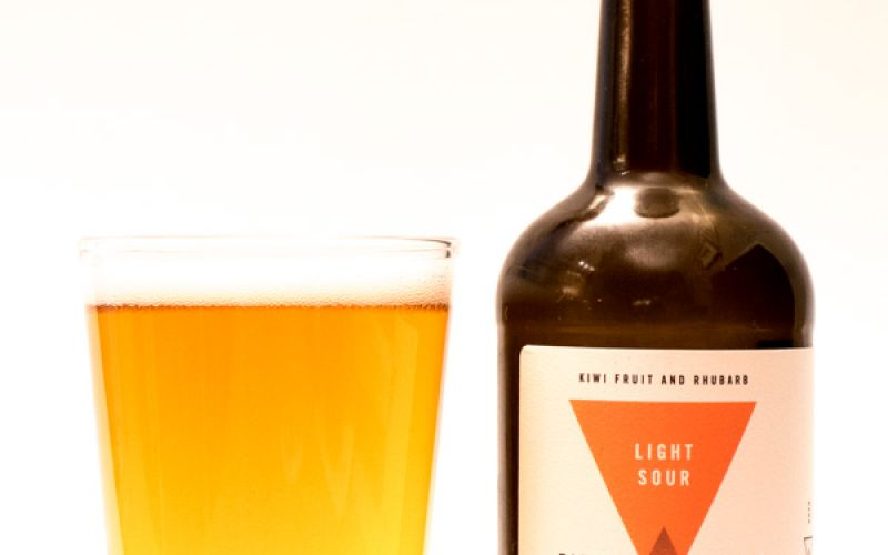 Field House Brewing – Kiwi Fruit + Rhubarb Light Sour