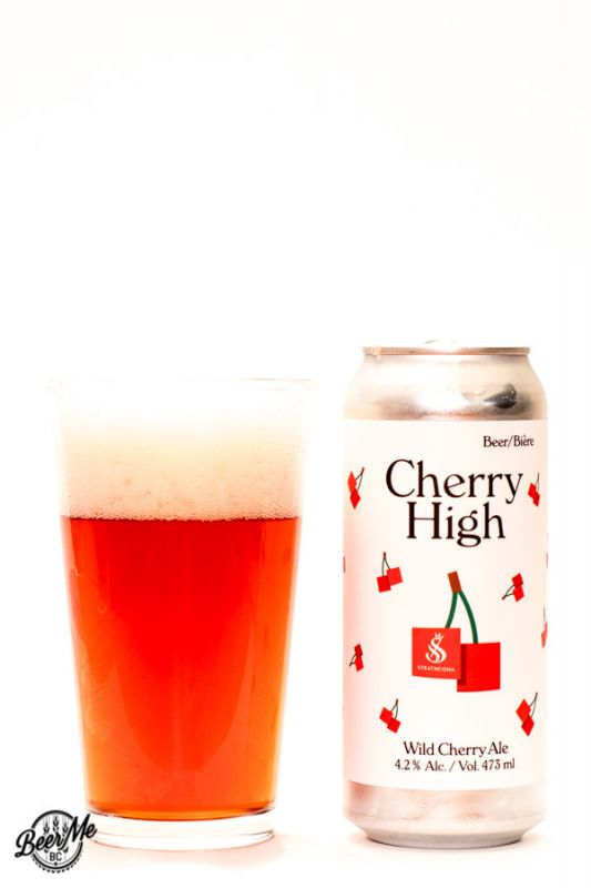Strathcona Beer Company Cherry High