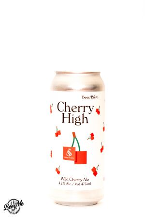 Strathcona Beer Company Cherry High Can