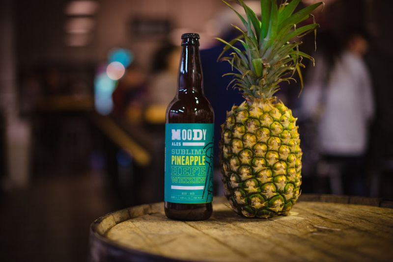 Moody Ales Sublime Pineapple Help