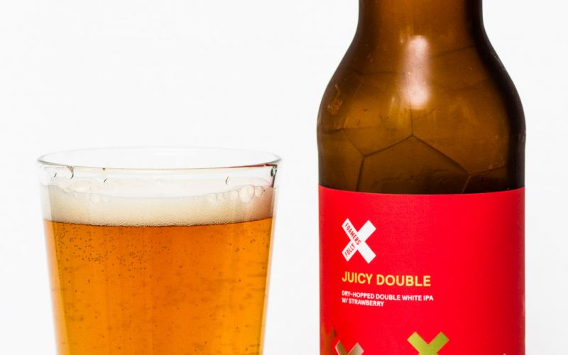 Foamers' Folly Brewing – Juicy Double Strawberry White IPA