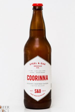 Steel & Oak Brewing Corrinna Saison Review