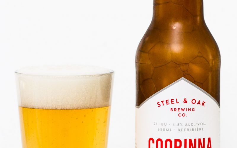 Steel & Oak Brewing Co. – Coorinna Oceanic Inspired Saison