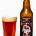 Saltspring Island Ales Rye Bock Review