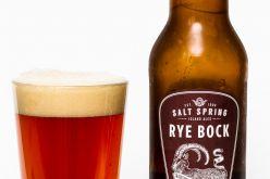 Saltspring Island Ales – Rye Bock